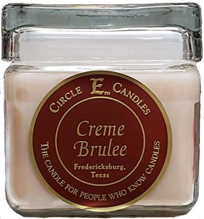 Circle E Candle ~ Creme Brulee