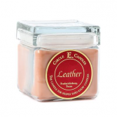 Circle E Candle ~ Leather