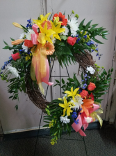 Circle of Life Wreath Standing Wreath
