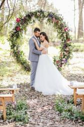 Circle of Love Wedding Backdrop