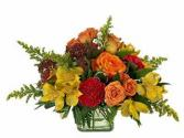 Iowa Sunset Flower Arrangement