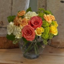 Citrus Blast vase arrangement