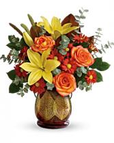 Citris Harvest Bouquet  Vase Arrangement