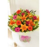 Citrus Bouquet Spring Flowers Wrap Bouquet