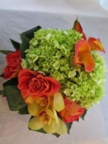CITRUS BURST Vase Arrangement