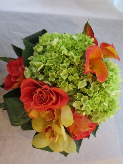 CITRUS BURST Vase Arrangement