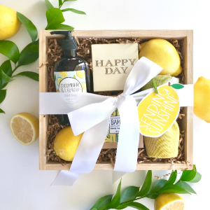 Citrus Curated Gift Box Gift Box in Burns, OR | 4B Nursery And Floral