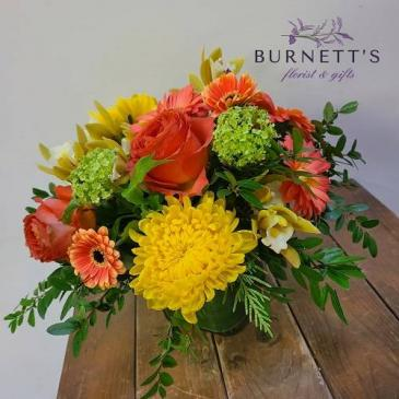 Citrus Daze Vase Arrangement