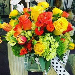 Citrus delight bouquet