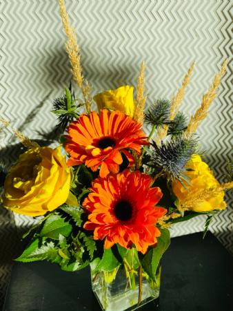 citrus delight Vase Arrangement