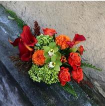 Citrus Dream Flower Arrangement