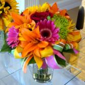 Citrus Flare! Vase