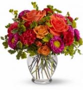 Citrus Impact Bouquet Vase