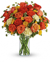 Citrus Kissed  in Granger, Indiana | Yellow Rose Florist