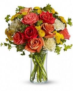 Citrus Kissed Bouquet by Enchanted Florist