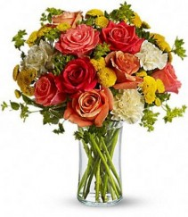 Citrus Kissed Floral Arrangement