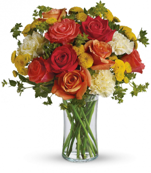 Citrus Kissed Fresh Arrangement in Rossville, GA | Ensign The Florist