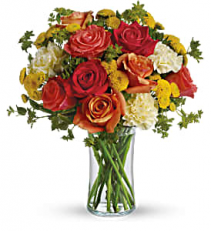 Citrus Kissed Fresh arrangenment