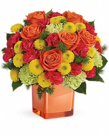 Citrus Smile Bouquet Fresh Arrangement
