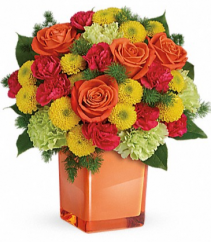 Citrus Smiles Bouquet Arrangement