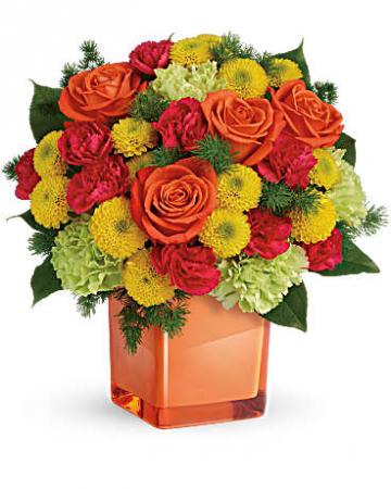 Citrus Smiles fresh flowers