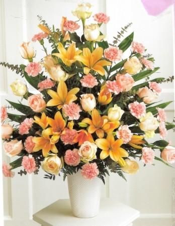 Citrus Sunset funeral arrangemnt