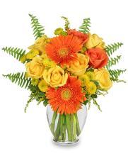 Citrus Zest Vase