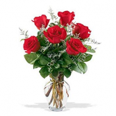 Classic 1/2 Dozen Roses Rose Arrangement