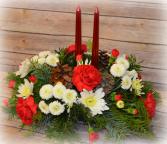 Classic 2 Candle Centerpiece