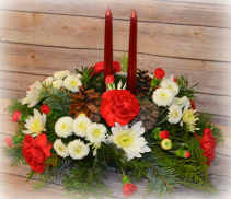Classic 2 Candle Centerpiece