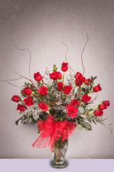 Classic 2 Dozen Red Roses 2 dozen red roses