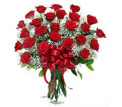 Classic 2 Dozen  Rose Vase in Dayton, OH | FLOWERAMA