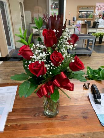 Classic 6 Roses Roses