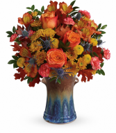 Classic Autumn  All-Around Floral Arrangement