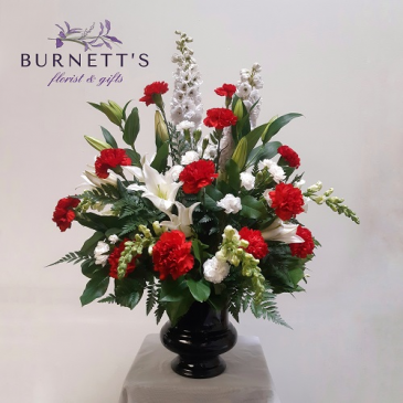 Classic Beauty Urn Arrangement