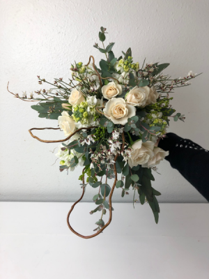 Classic Beauty Bouquet Wedding Bouquet in North Bend, OR | PETAL TO THE METAL FLOWERS