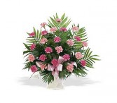 CLASSIC CARNATIONS FUNERAL FLOWERS