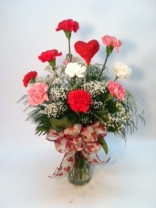 Classic Carnations Twigs & Vines Original