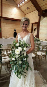 Classic Cascade Bridal Bouquet