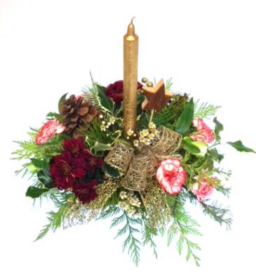 Classic Christmas Centerpiece Arrangement