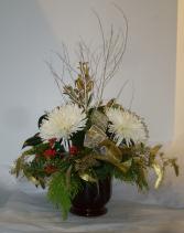 CLASSIC CHRISTMAS Fresh Christmas Arrangement
