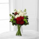 Classic Christmas Rose Bouquet Christmas