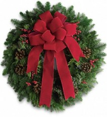 Classic Classy Holiday Wreath