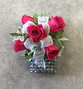 Classic Corsage - Hot Pink Corsage