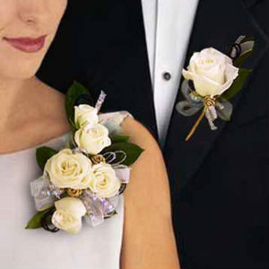 Classic Pin-on Corsage Wedding