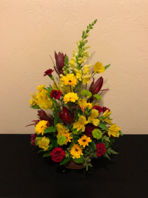 Classic Country Basket Arrangement