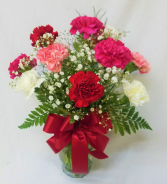 Classic Dozen Carnations