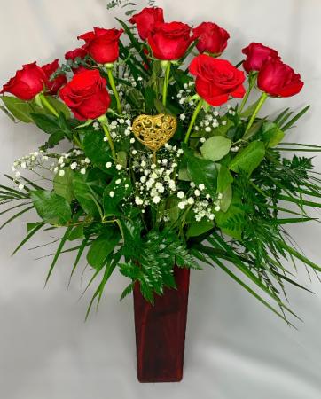 Classic Dozen Long Stemmed Red Roses