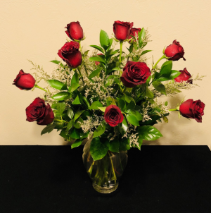 Classic Dozen Red Roses Arrangement in Boise, ID   HEAVENESSENCE FLORAL & GIFTS