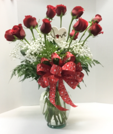Classic Dozen Red Roses Red roses